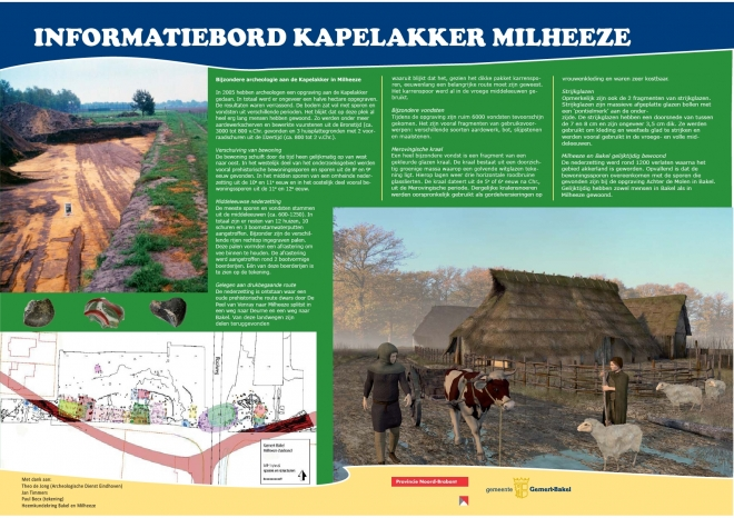 Archeologie bord Milheeze