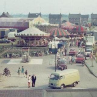 005-Kermis in Milheeze in 1968