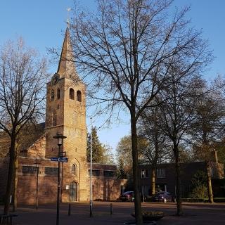 024-Foto van de huidige kerk te Milheeze.