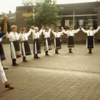 043-Volksdansgroep Milheeze, rond de jaren '70 in de vorige eeuw opgericht.