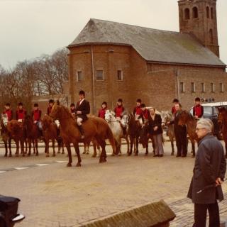045-Ruiterclub de Bosdravertjes uit Milheeze, opgericht in 1960 en opgeheven in het jaar 2000.