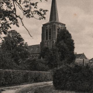 063-Bakel, Muggenheuvel, halverwege splitst deze weg zich richting Speelweide (waar deze foto is gemaakt) en richting Kerksedriessen.