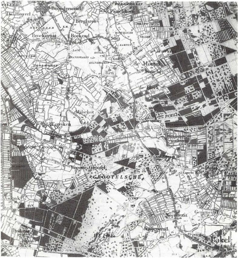 Weg gemert bakel - plattegrond-aanlg-weg-gemert-bakel